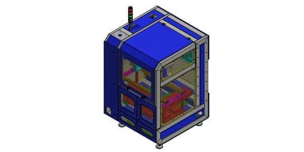 Entwurf der Depannelling-Maschine von CTI-Service